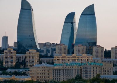 Flame Towers, Baku 2015 (Medium)